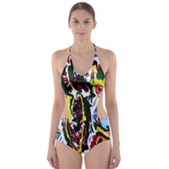 Inposing Butterfly 1 Cut Out One Piece Swimsuit