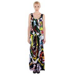 Inposing Butterfly 1 Maxi Thigh Split Dress