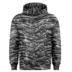 Dark Skin Texture Pattern Men s Pullover Hoodie