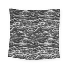 Dark Skin Texture Pattern Square Tapestry (Small)