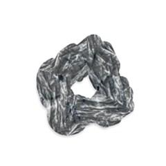 Dark Skin Texture Pattern Velvet Scrunchie