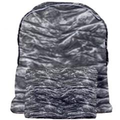 Dark Skin Texture Pattern Giant Full Print Backpack