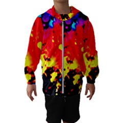 Colorfulpaintsptter Hooded Wind Breaker (kids)