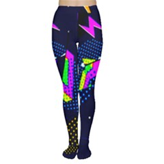 Background Designs Cool Zig Zags Women s Tights