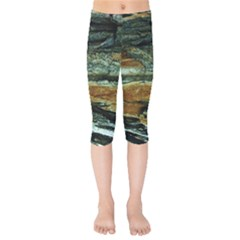 Tree In Highland Park Kids  Capri Leggings