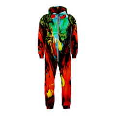 Camping 5 Hooded Jumpsuit (kids)