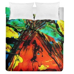 Camping 5 Duvet Cover Double Side (queen Size)