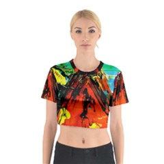 Camping 5 Cotton Crop Top