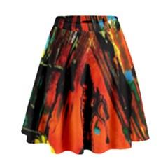 Camping 5 High Waist Skirt