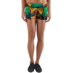 Young Witches Yoga Shorts