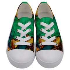 Young Witches Kids  Low Top Canvas Sneakers