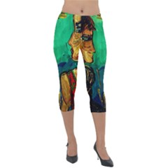 Young Witches Lightweight Velour Capri Leggings