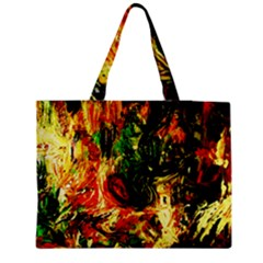 Sunset In A Desert Of Mexico Medium Tote Bag by bestdesignintheworld