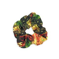 Sunset In A Desert Of Mexico Velvet Scrunchie by bestdesignintheworld
