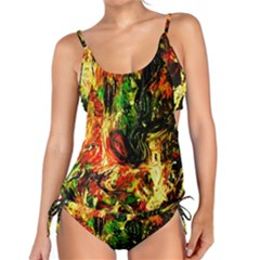 Sunset In A Desert Of Mexico Tankini Set