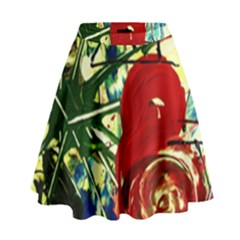 Irish Clock High Waist Skirt
