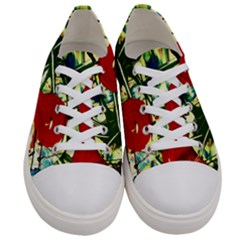 Irish Clock Women s Low Top Canvas Sneakers
