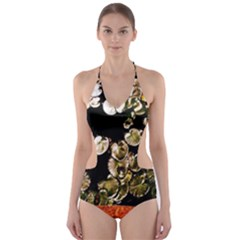 Highland Park 4 Cut Out One Piece Swimsuit
