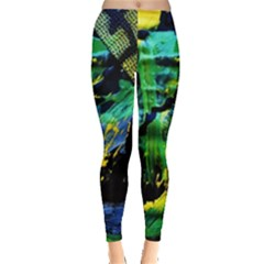 Rumba On A Chad Lake 10 Leggings