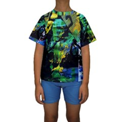 Rumba On A Chad Lake 10 Kids  Short Sleeve Swimwear