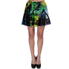 Rumba On A Chad Lake 10 Skater Skirt