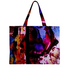 Absurd Theater In And Out 4 Zipper Mini Tote Bag