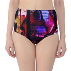 Absurd Theater In And Out 4 Classic High Waist Bikini Bottoms