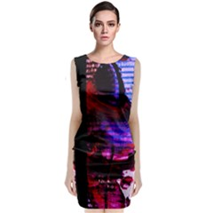 Absurd Theater In And Out 4 Classic Sleeveless Midi Dress
