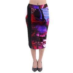 Absurd Theater In And Out 4 Midi Pencil Skirt