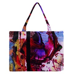 Absurd Theater In And Out 4 Zipper Medium Tote Bag