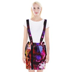 Absurd Theater In And Out 4 Braces Suspender Skirt