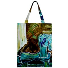 Horsey Toy Zipper Classic Tote Bag