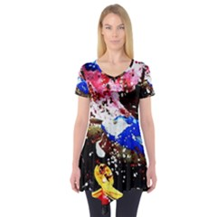 Smashed Butterfly 5 Short Sleeve Tunic