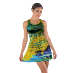 One Minute Egg 4 Cotton Racerback Dress