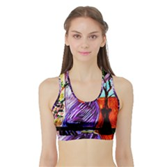 House Will Be Built 10 Sports Bra With Border