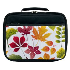 Beautiful Autumn Leaves Vector Lunch Bag