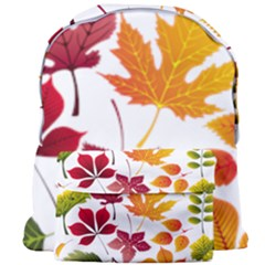 Beautiful Autumn Leaves Vector Giant Full Print Backpack
