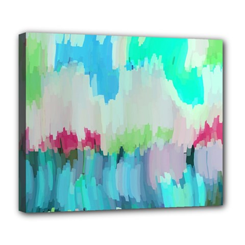 Abstract Background Deluxe Canvas 24  X 20