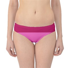 Red Orange Yellow Pink Sunny Color Combo Striped Pattern Stripes Hipster Bikini Bottoms
