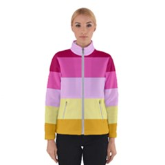 Red Orange Yellow Pink Sunny Color Combo Striped Pattern Stripes Winterwear