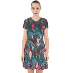 Floral Pattern Adorable In Chiffon Dress