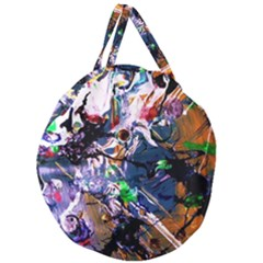 Jealousy   Battle Of Insects 6 Giant Round Zipper Tote
