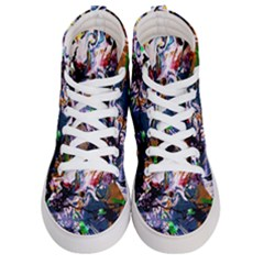 Jealousy   Battle Of Insects 6 Men s Hi Top Skate Sneakers