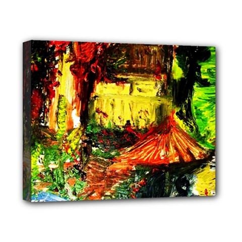 St Barbara Resort Canvas 10  X 8