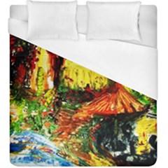 St Barbara Resort Duvet Cover (king Size) by bestdesignintheworld