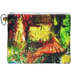 St Barbara Resort Canvas Cosmetic Bag (xxxl) by bestdesignintheworld