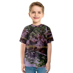 Old Tree 6 Kids  Sport Mesh Tee
