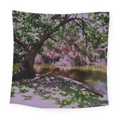 Old Tree 6 Square Tapestry (large) by bestdesignintheworld