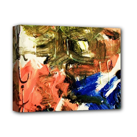 Painting And Letters Deluxe Canvas 14  X 11