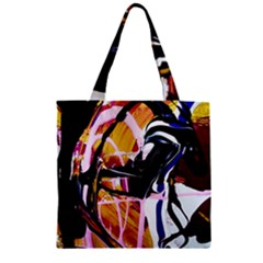 Immediate Attraction 2 Zipper Grocery Tote Bag by bestdesignintheworld